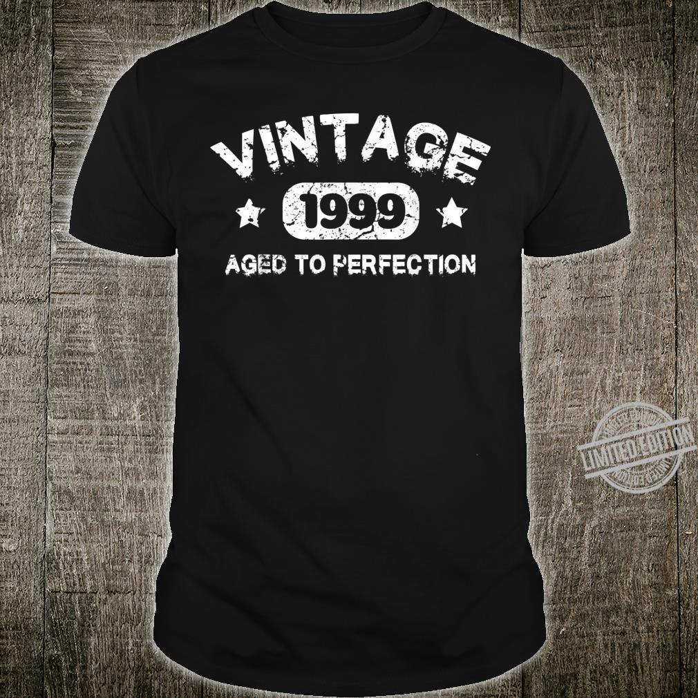 21 Years Old 1999 Vintage 21th Birthday Idea Shirt