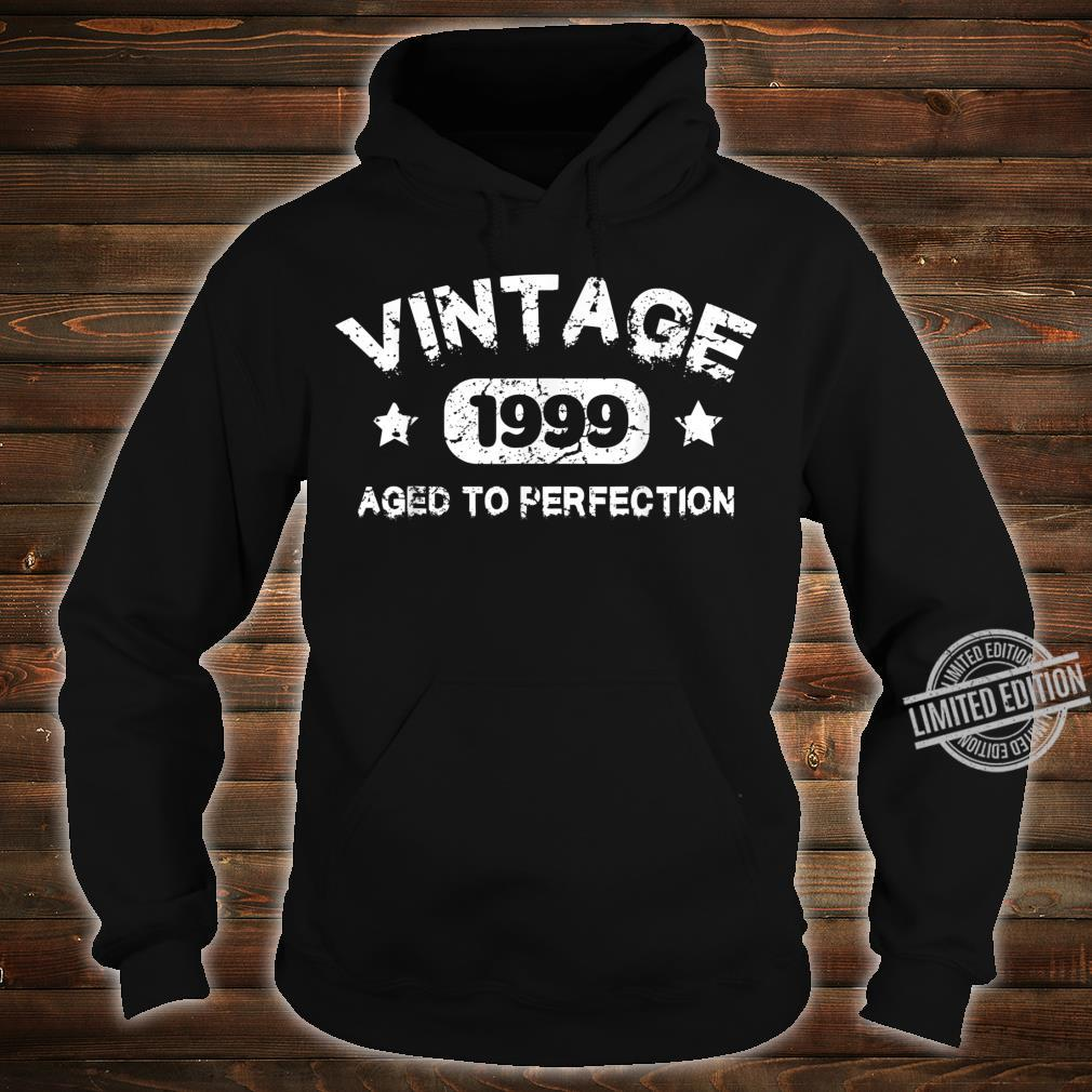 21 Years Old 1999 Vintage 21th Birthday Idea Shirt hoodie