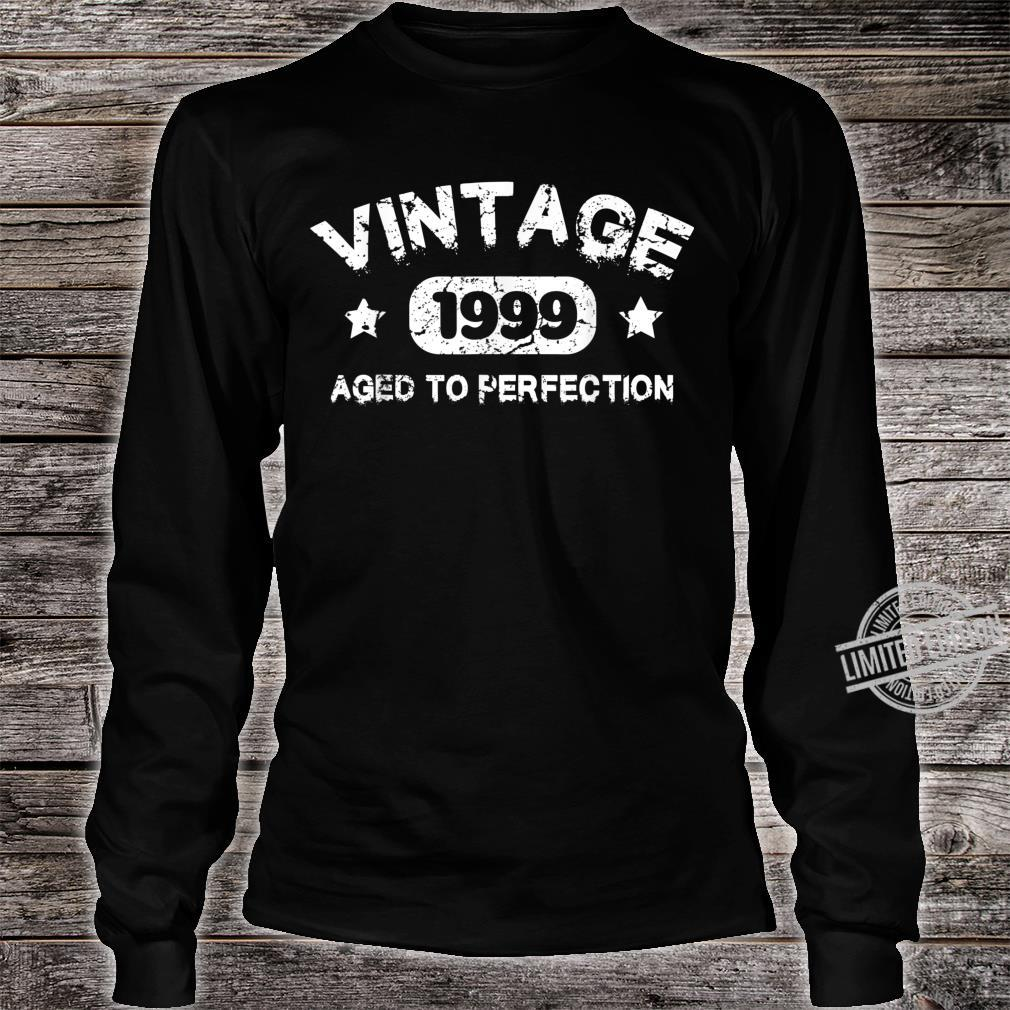 21 Years Old 1999 Vintage 21th Birthday Idea Shirt long sleeved