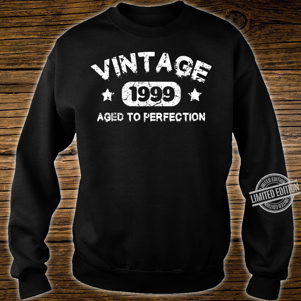 21 Years Old 1999 Vintage 21th Birthday Idea Shirt sweater