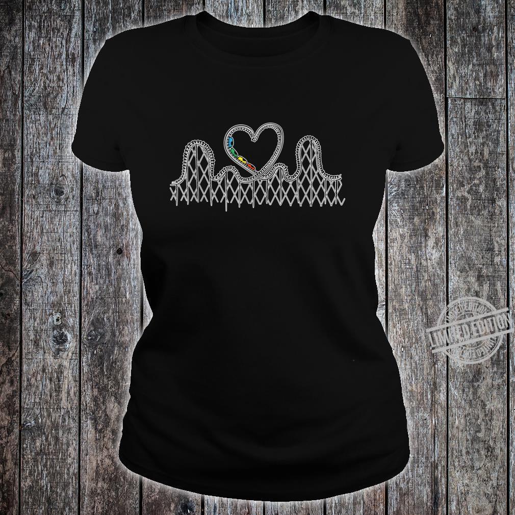 Achterbahn Liebesgeschenke Achterbahn Aufregende Shirt ladies tee