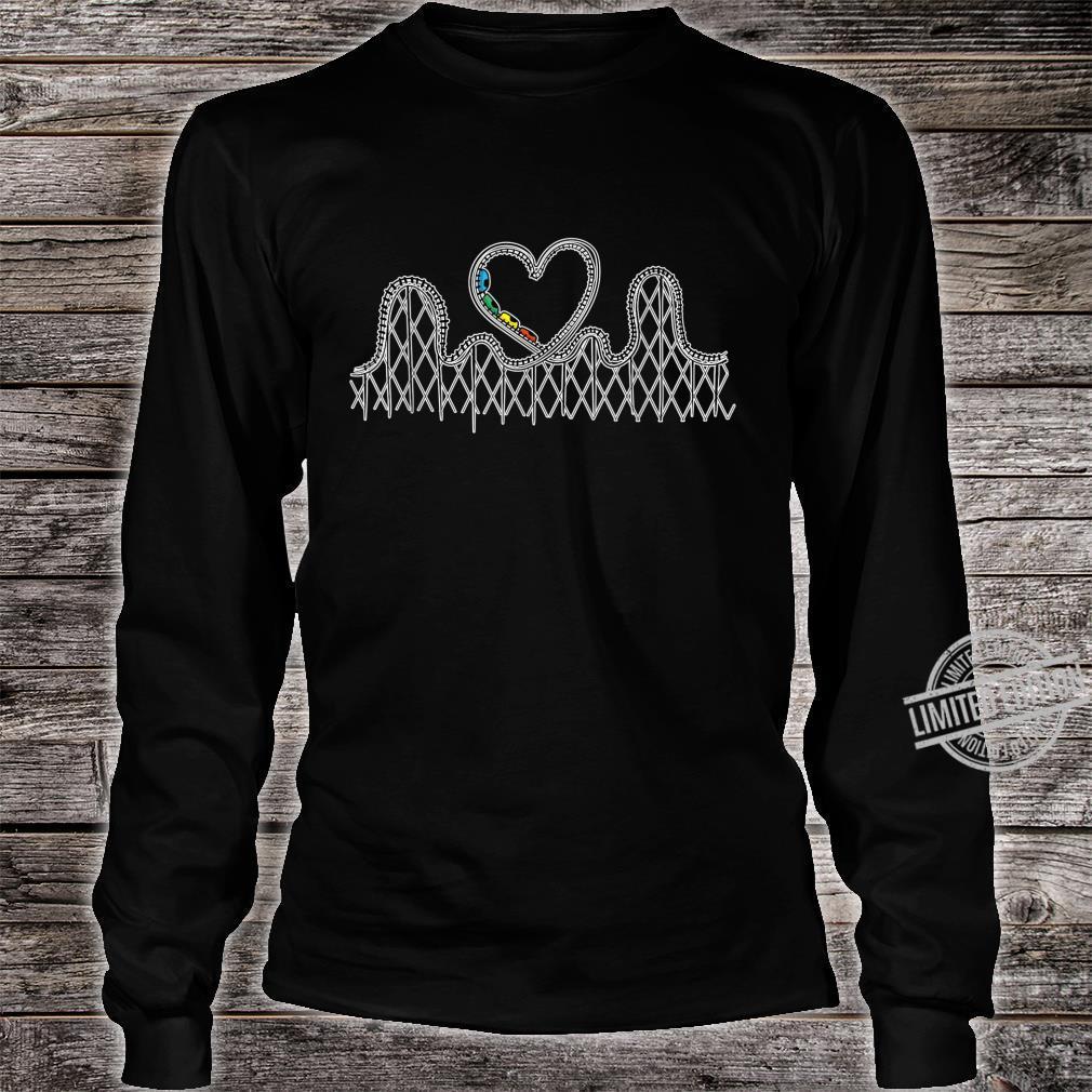 Achterbahn Liebesgeschenke Achterbahn Aufregende Shirt long sleeved