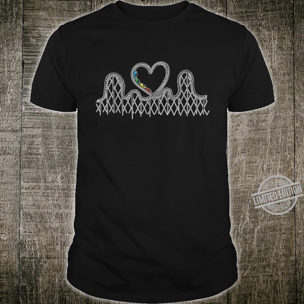 Achterbahn Liebesgeschenke Achterbahn Aufregende Shirt