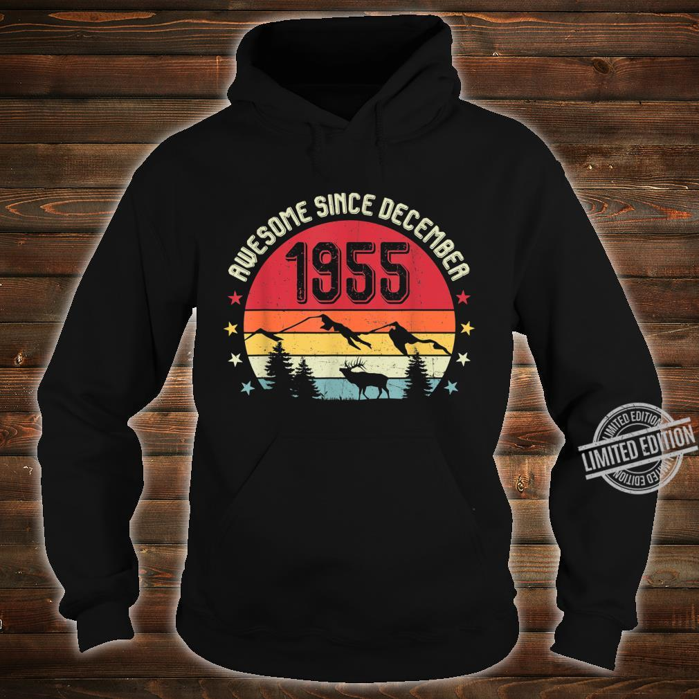 Awesome Since December 1955 Birthday Shirt Vintage Shirt Shirt hoodie