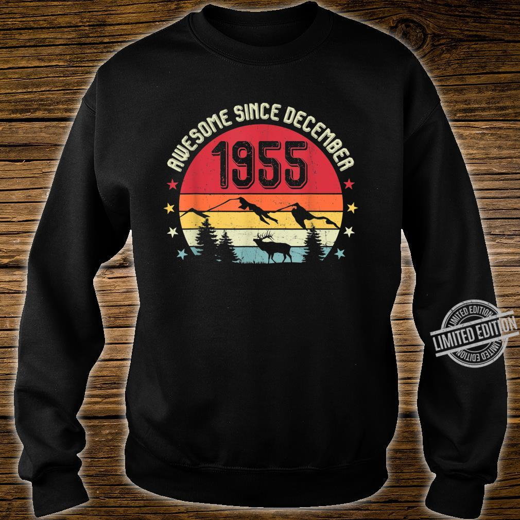 Awesome Since December 1955 Birthday Shirt Vintage Shirt Shirt sweater