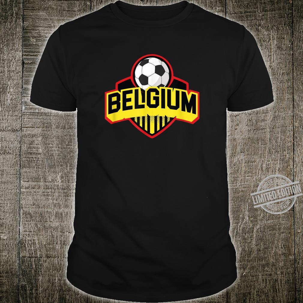 Belgium Flag Belgium Soccer Shirt