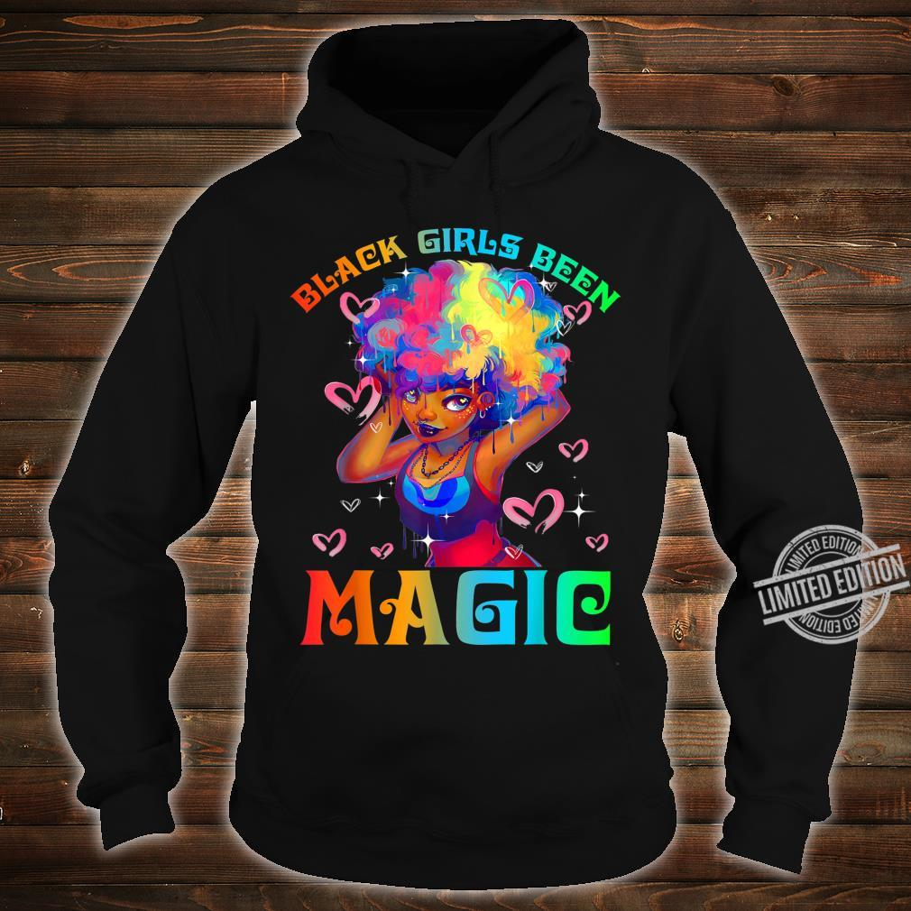 Black Girls Been Magic Black History Month African American Shirt hoodie