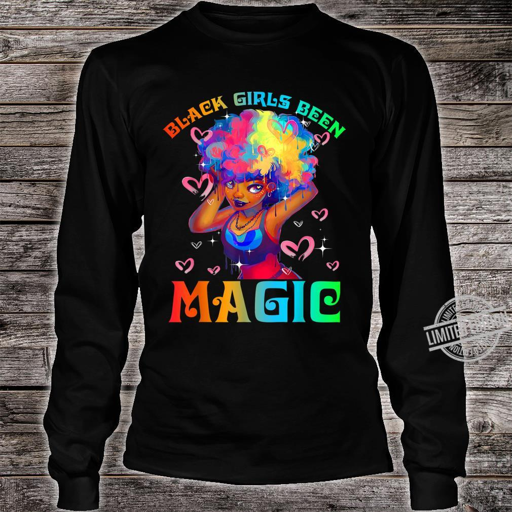 Black Girls Been Magic Black History Month African American Shirt long sleeved
