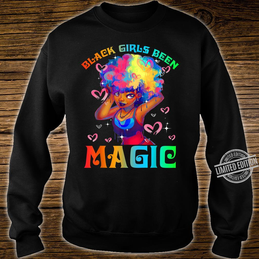 Black Girls Been Magic Black History Month African American Shirt sweater