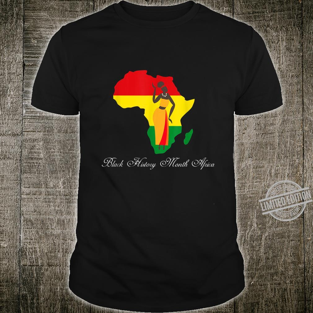Black History Month Africa Hair Afro Shirt