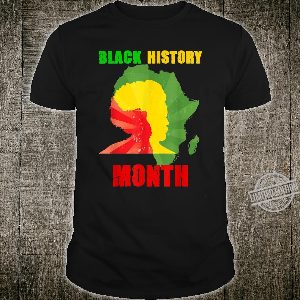 Black History Month I Am Black Every Month Shirt