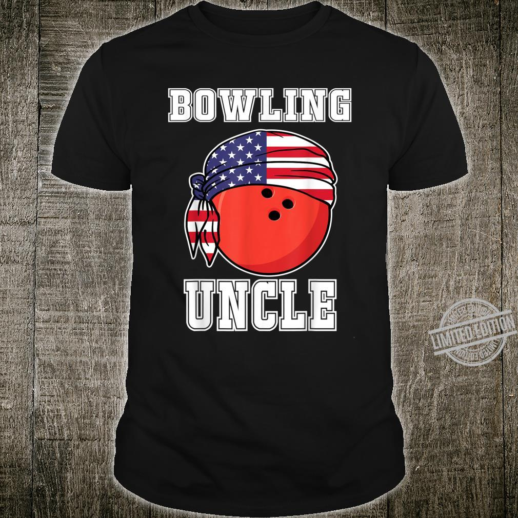 Bowling Uncle Jersey, Family Sports for Uncle of Bowler Shirt