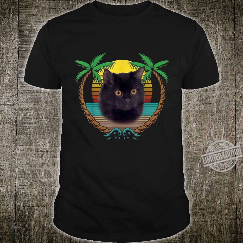 Cat Shirt, Vintage Retro StyleShirt Shirt