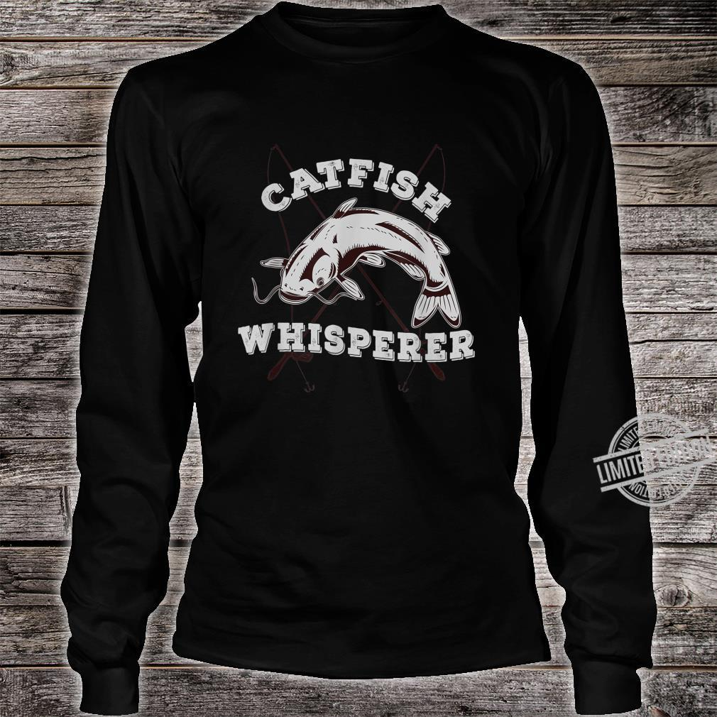Catfish Whisperer Fisherman Catfishing Freshwater Fishing Shirt long sleeved
