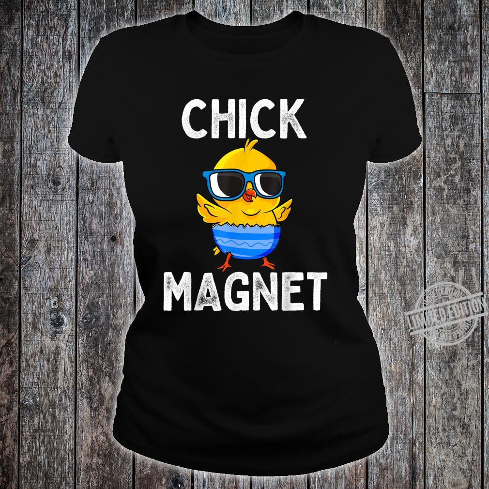 Chick Magnet Easter Cute Baby Chicken Boys Shirt ladies tee