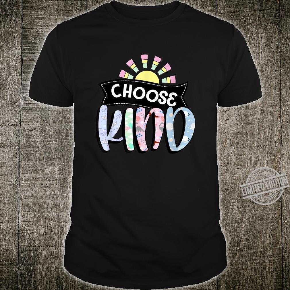 Choosing Kind Choose Kindness Autism Awareness Shirt