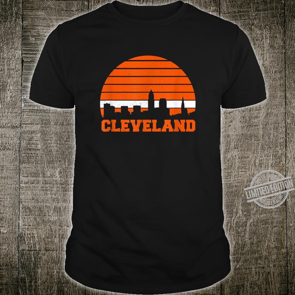 Cleveland Skyline Vintage Cleveland Shirt
