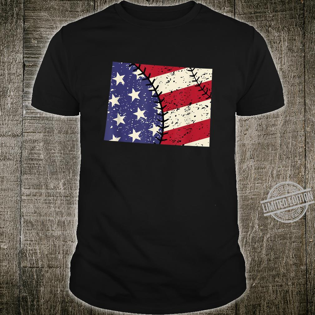 Colorado USA Retro Vintage Baseball Shirt