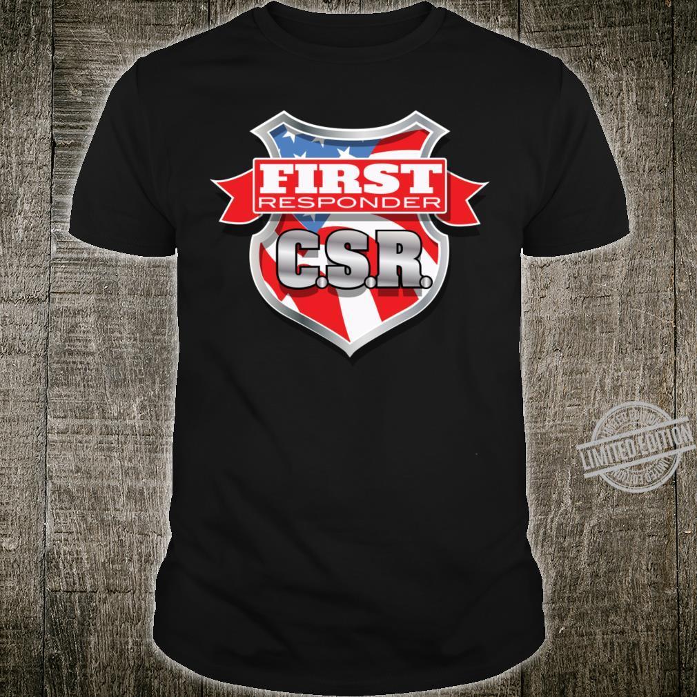 Customer Service Representative Baseball Shirt