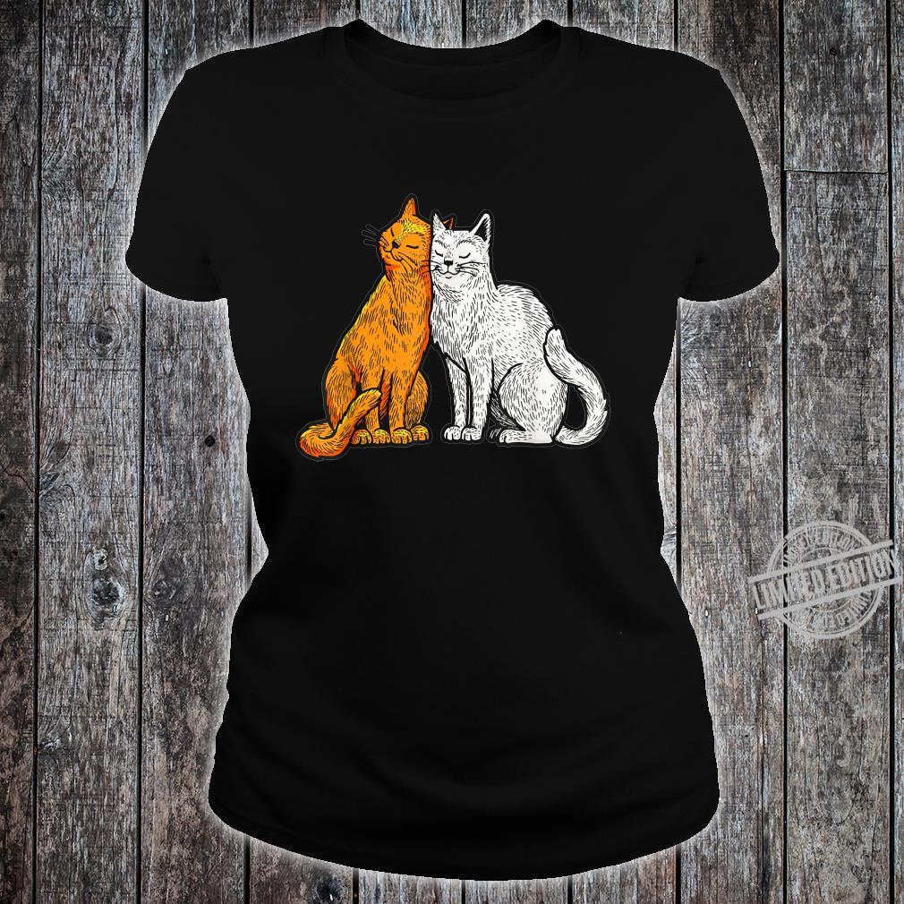 Cute Cat Gift for kittens Shirt ladies tee