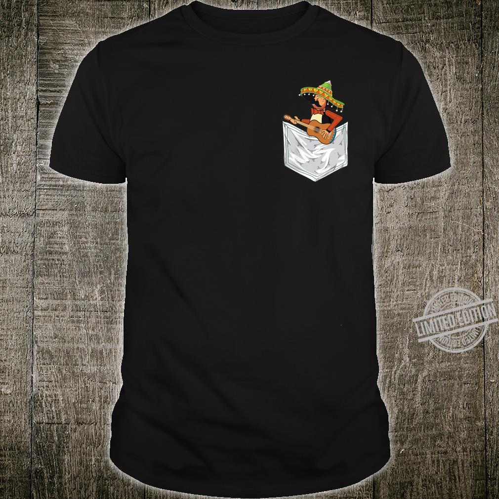 Cute Mariachi In Pocket Cinco De Mayo Shirt