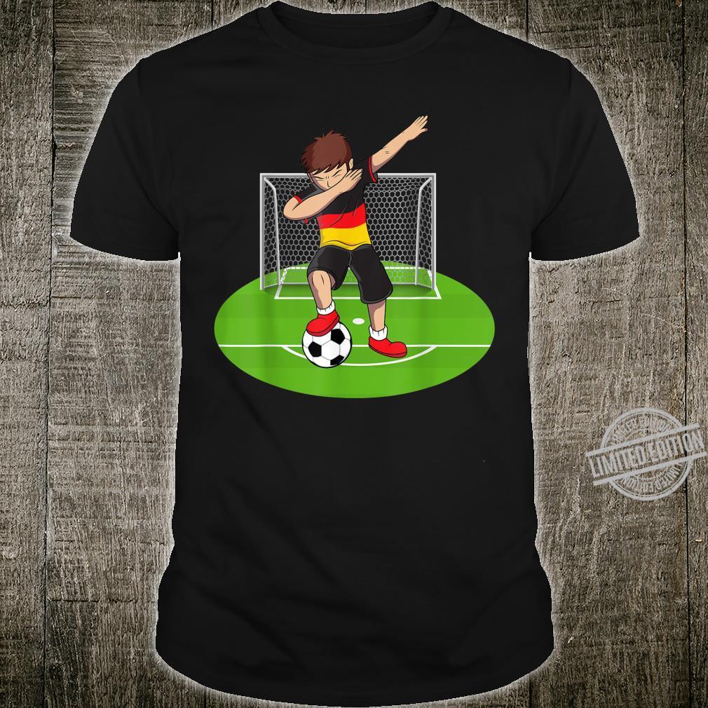 Dabbing Soccer Boy Germany German Football Boys Shirt