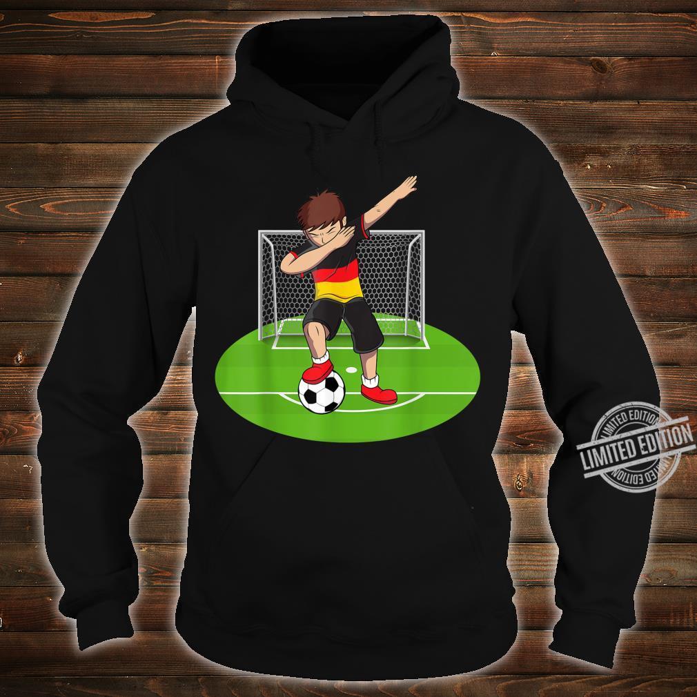 Dabbing Soccer Boy Germany German Football Boys Shirt hoodie