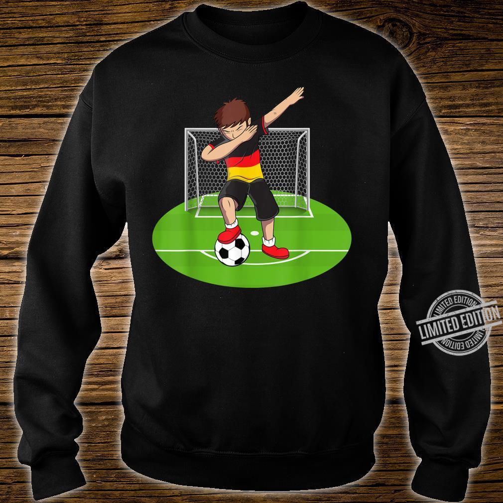 Dabbing Soccer Boy Germany German Football Boys Shirt sweater