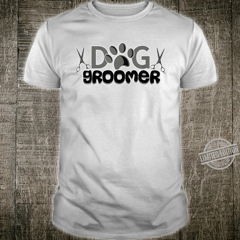 Dog Groomer For Pet Puppy Care Grooming Stylist Animal Shirt