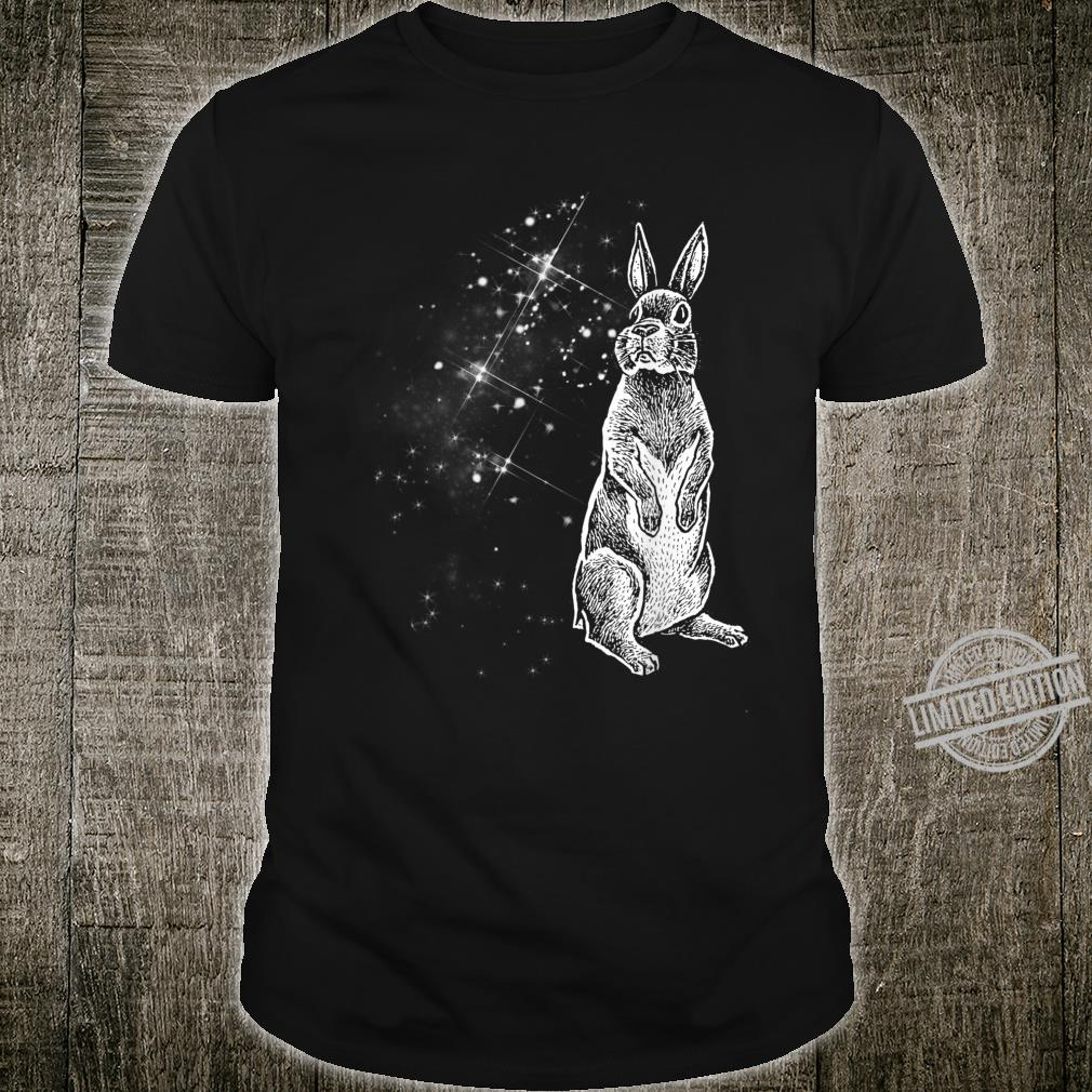 Easter Bunny Abstract Silhouette North Star Shirt Shirt