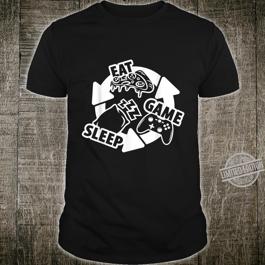 Eat Sleep Game Repeat Shirt