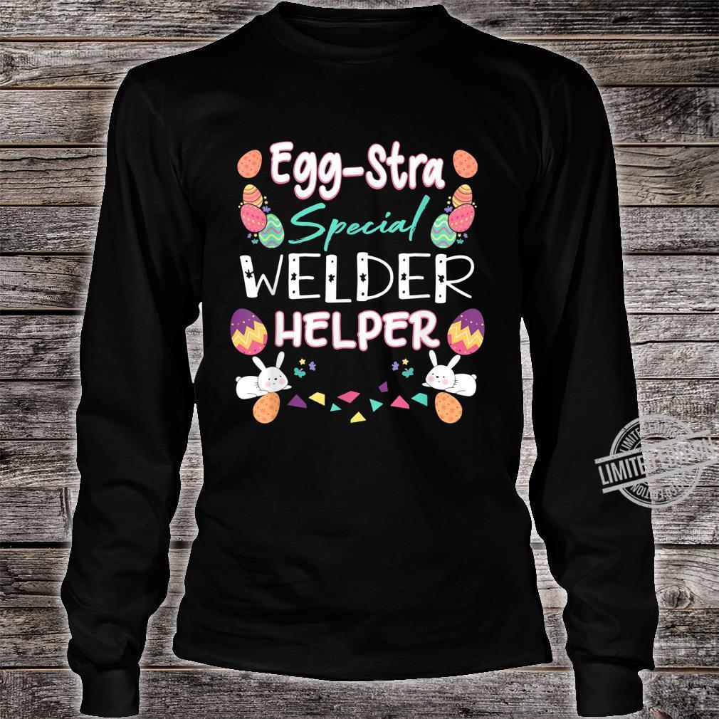 Eggstra Special Welder Helper Thanksgiving Puns Shirt