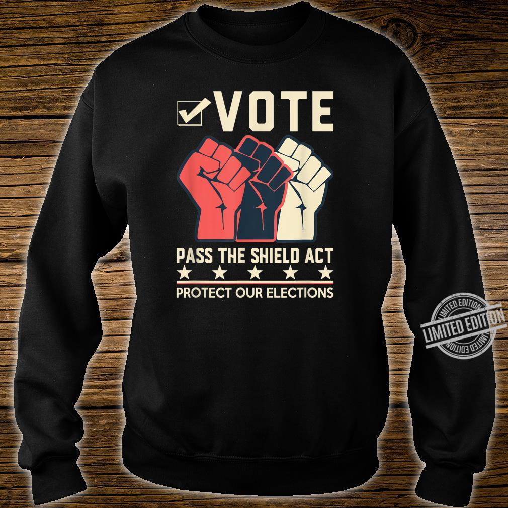 Election Security Now Pass the Shield Act Shirt sweater