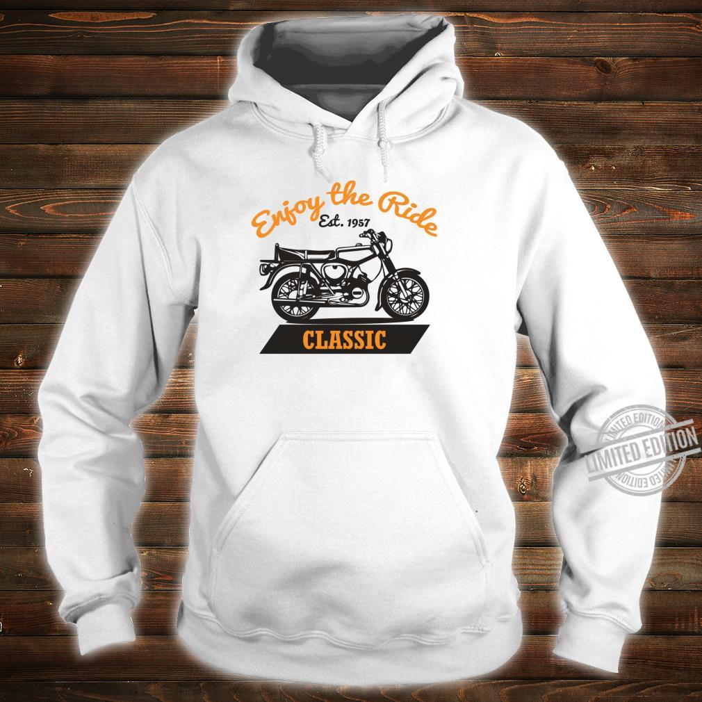 Enjoy The Ride S51 Moped Oldtimer SimsonS51 Shirt hoodie