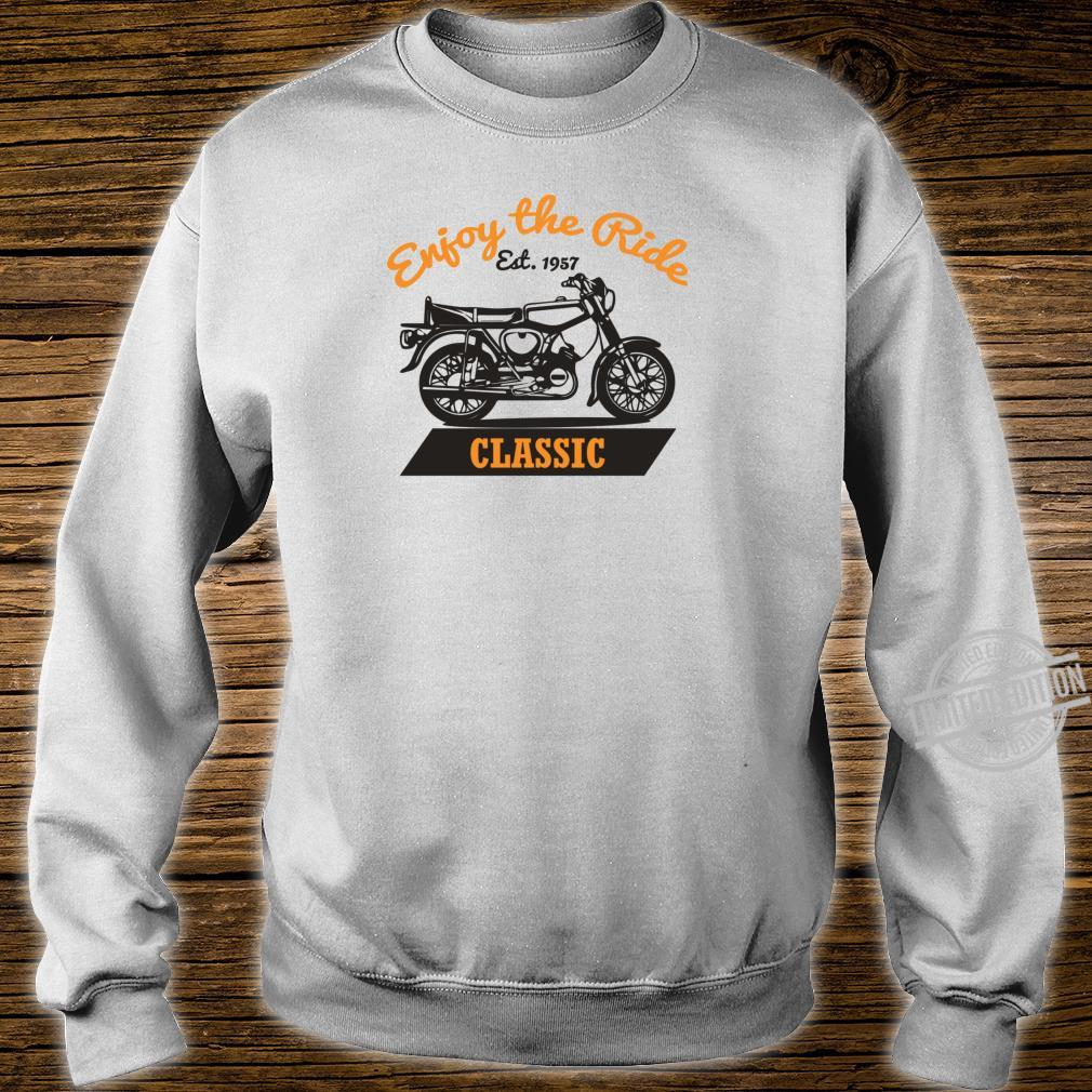 Enjoy The Ride S51 Moped Oldtimer SimsonS51 Shirt sweater