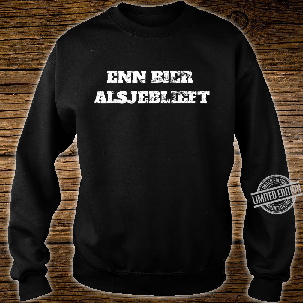 Enn bier,alsjeblieft one beer please in dutch Retro Vacation Shirt sweater