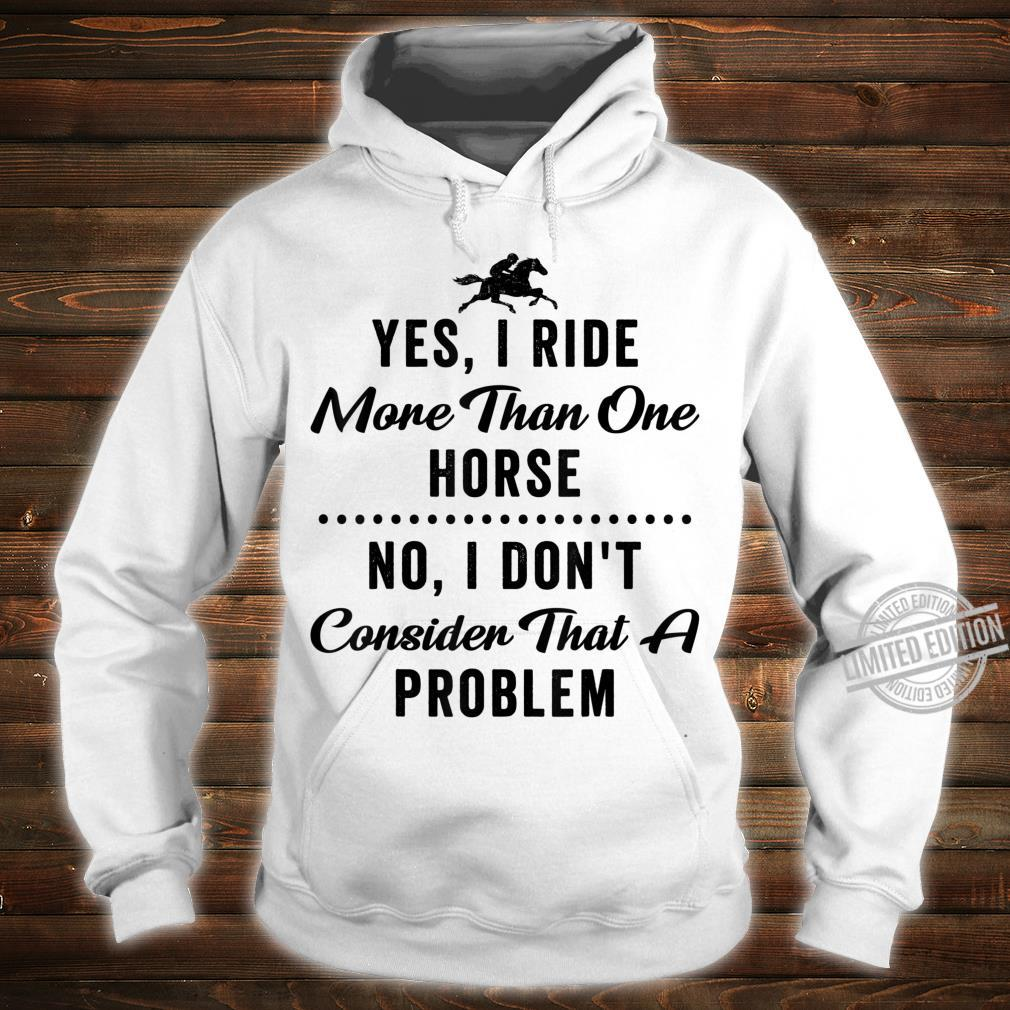 Equestrian Quote Horse Girls Riding Shirt hoodie