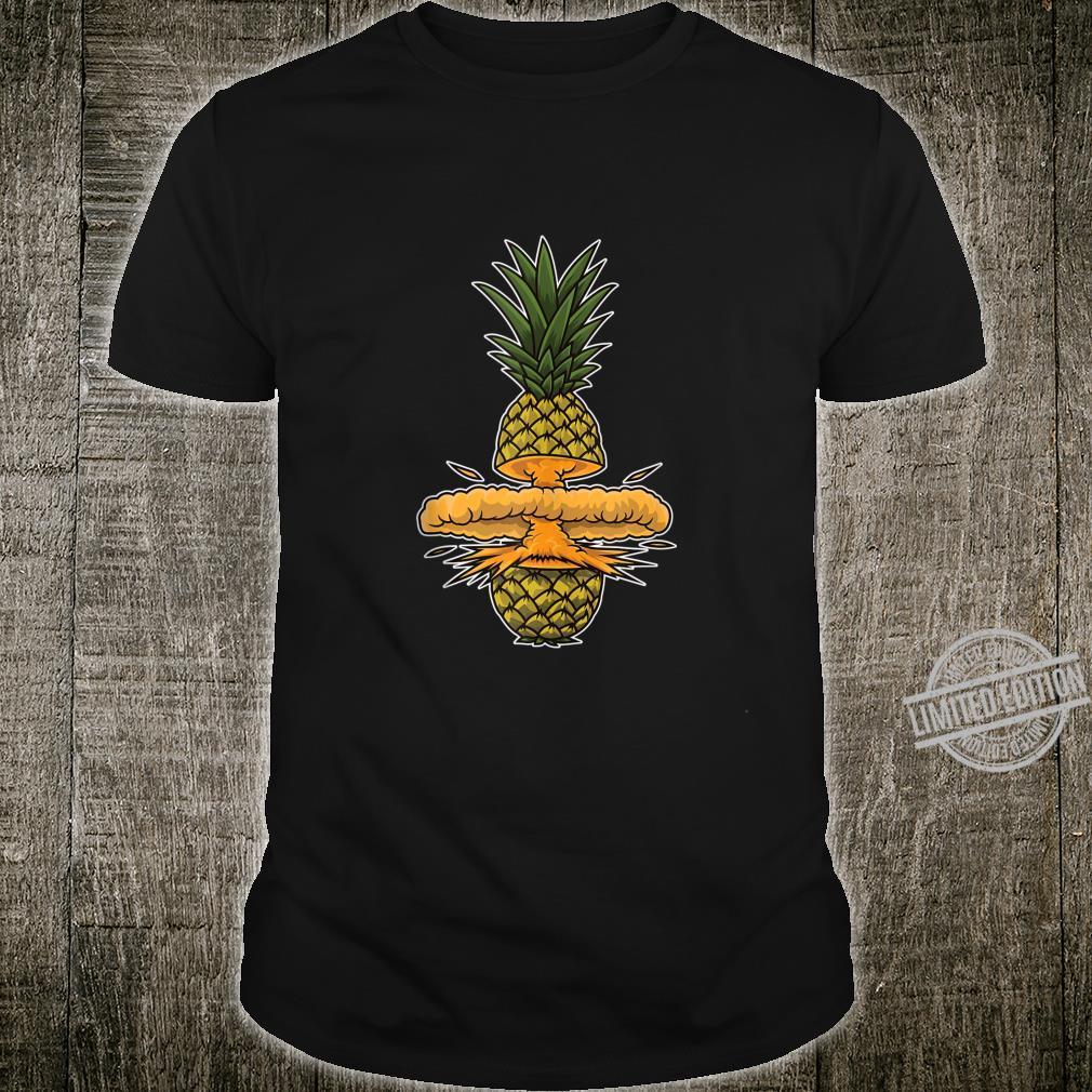 Funny Pineapple Bomb Summer Sun And Beach Party Nuke Shirt