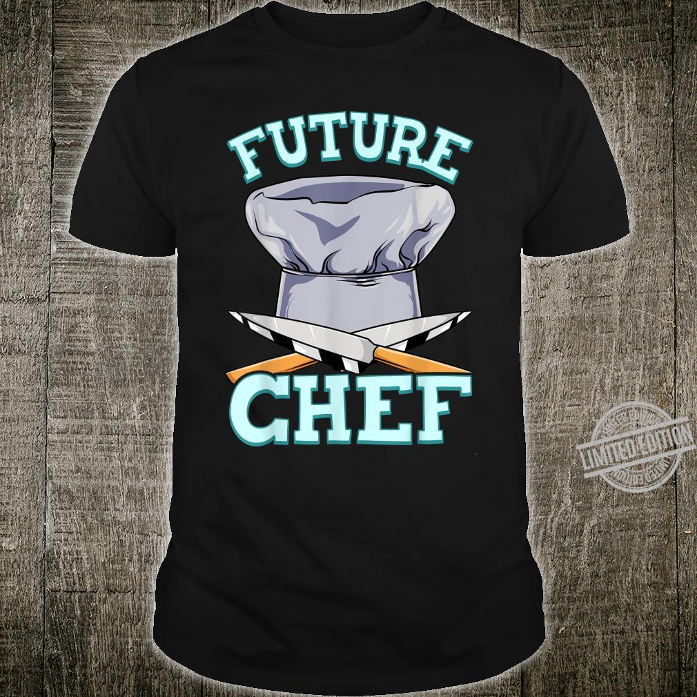 Future Chef Shirt Trained Professional Cook Kitchen Shirt