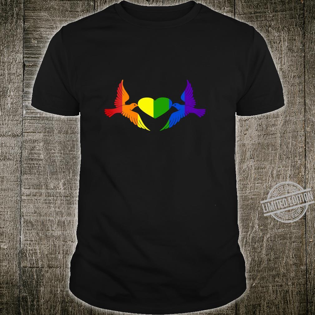 Gay Pride CSD, LGBT Queer, Freiheit, Liebe, Stolz, Toleranz Shirt