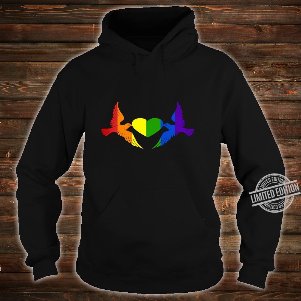 Gay Pride CSD, LGBT Queer, Freiheit, Liebe, Stolz, Toleranz Shirt hoodie