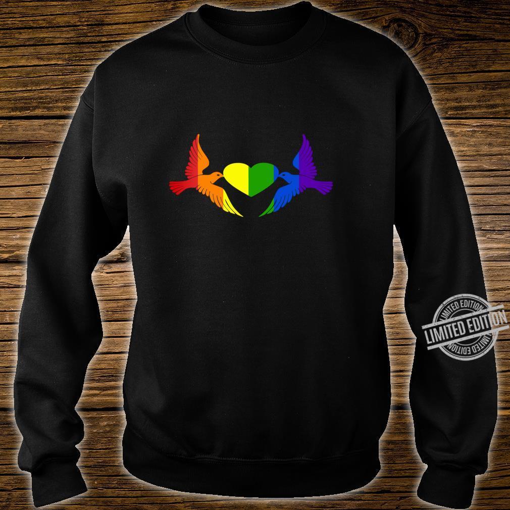 Gay Pride CSD, LGBT Queer, Freiheit, Liebe, Stolz, Toleranz Shirt sweater