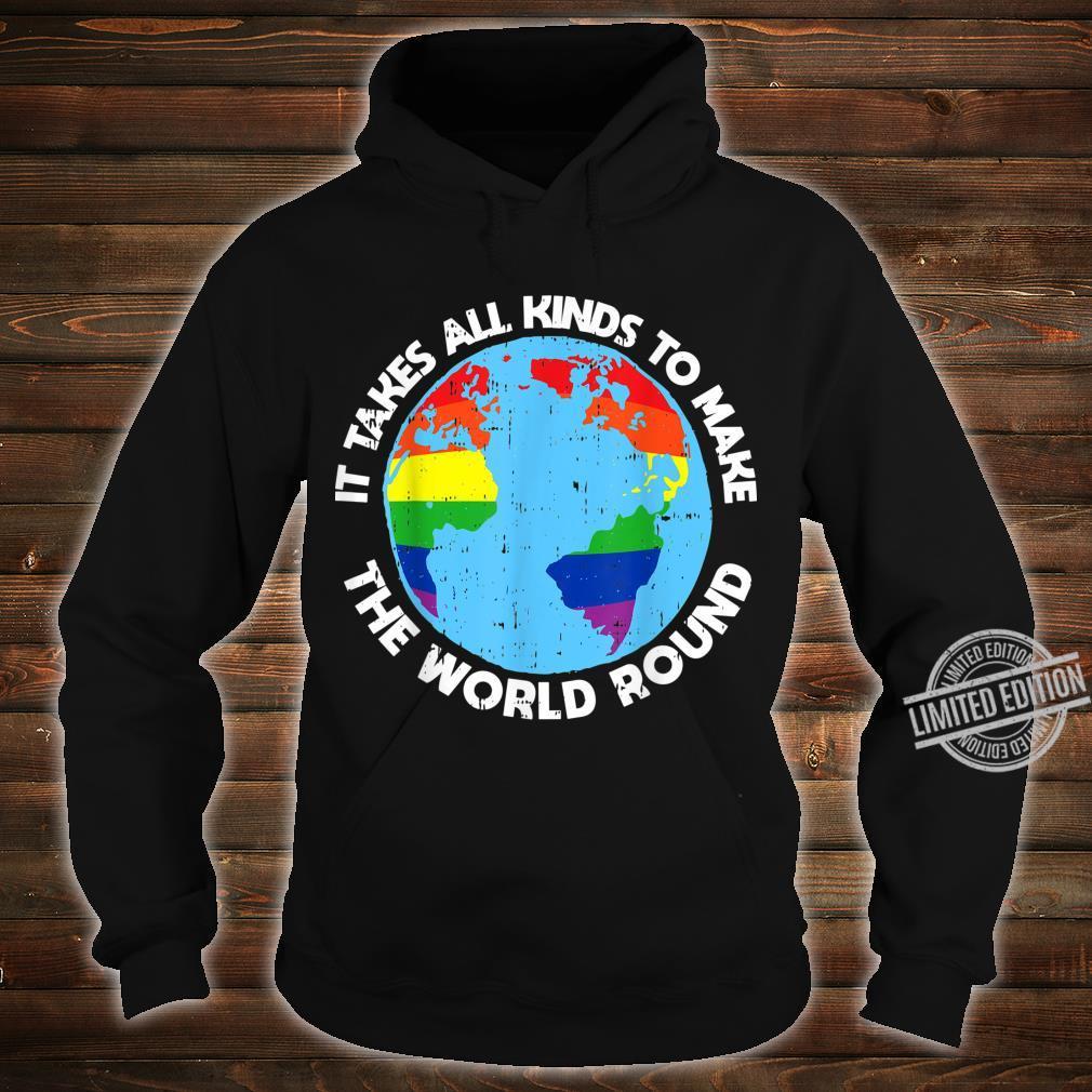Gay Saying Rainbow Pride Flag LGBTQ Cool LGBT Ally Shirt hoodie