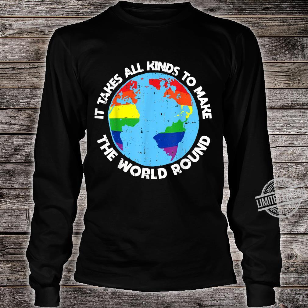Gay Saying Rainbow Pride Flag LGBTQ Cool LGBT Ally Shirt long sleeved