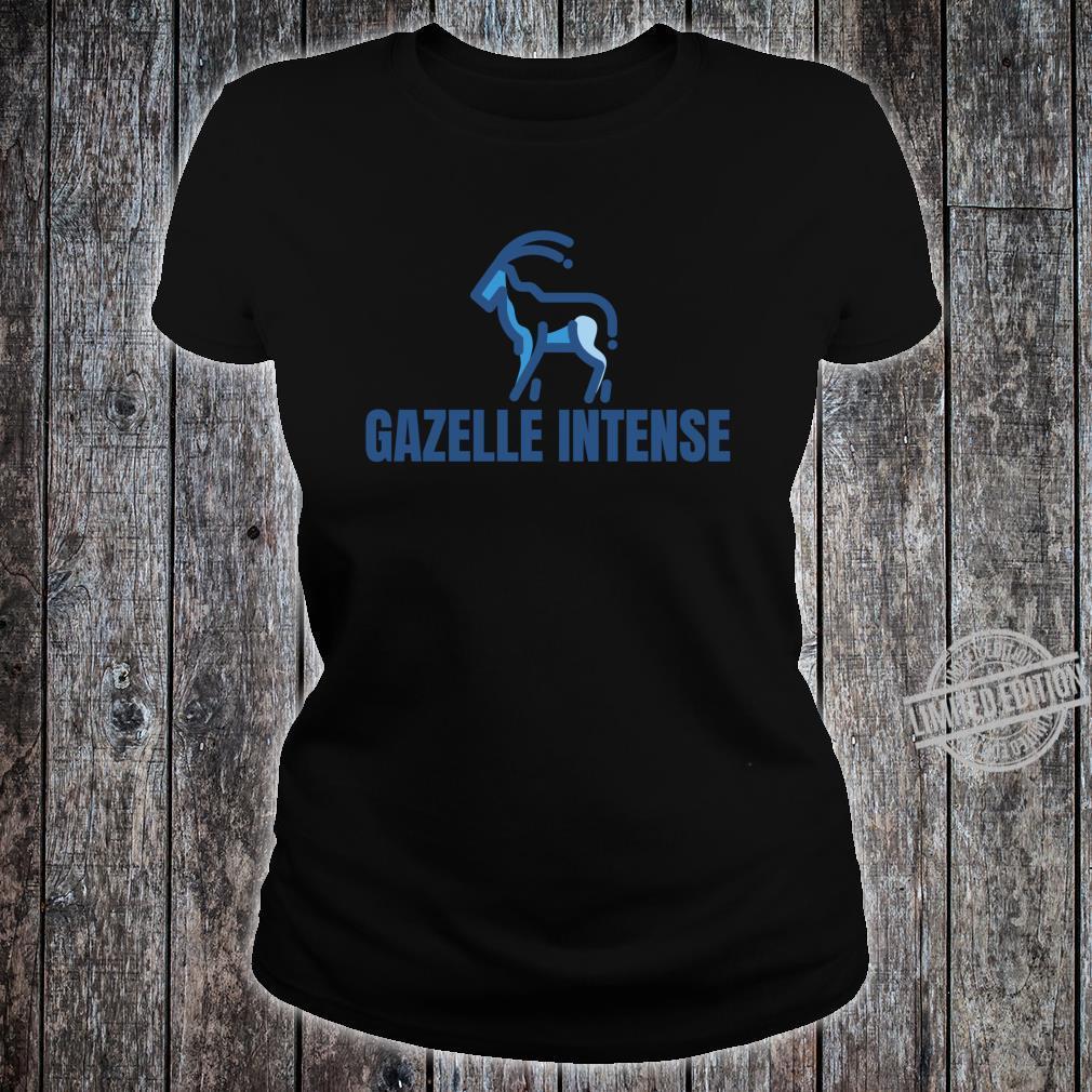 Gazelle Intense Debt Free Shirt ladies tee