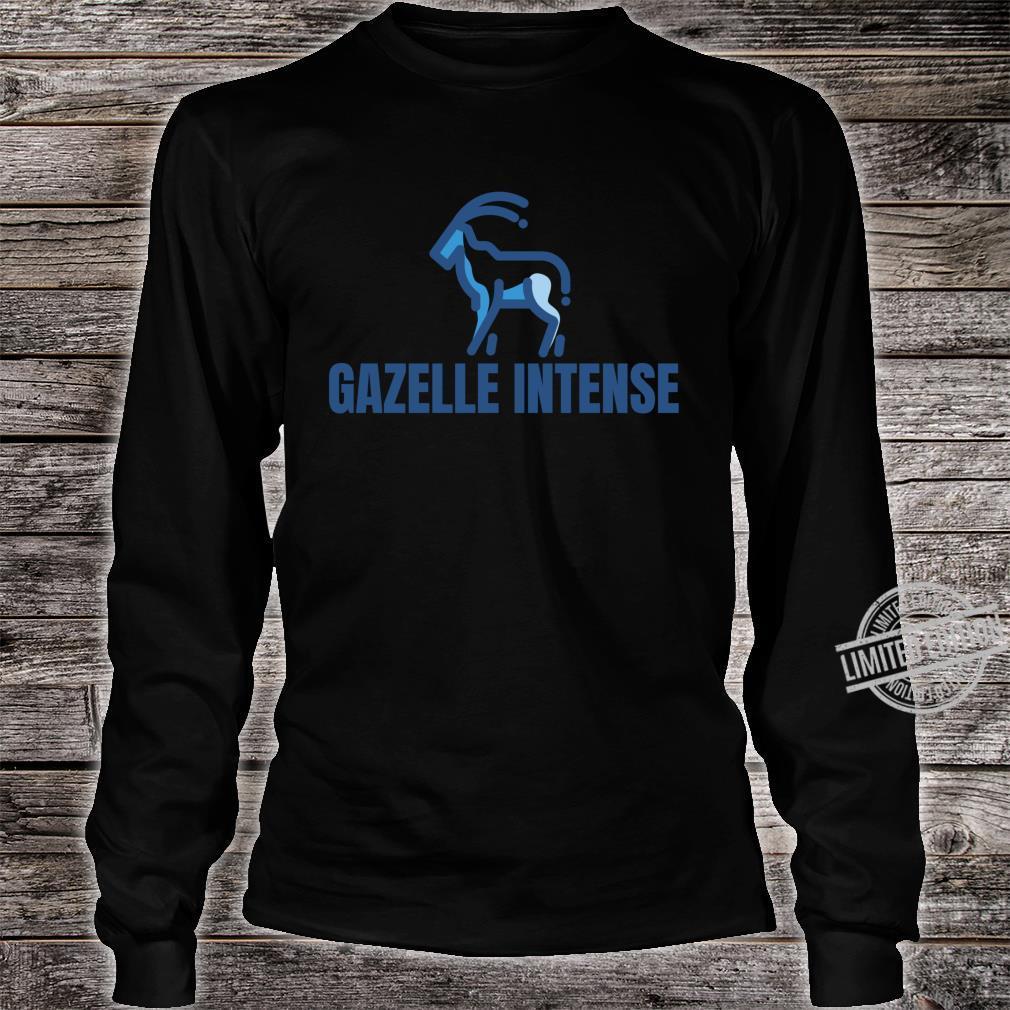 Gazelle Intense Debt Free Shirt long sleeved