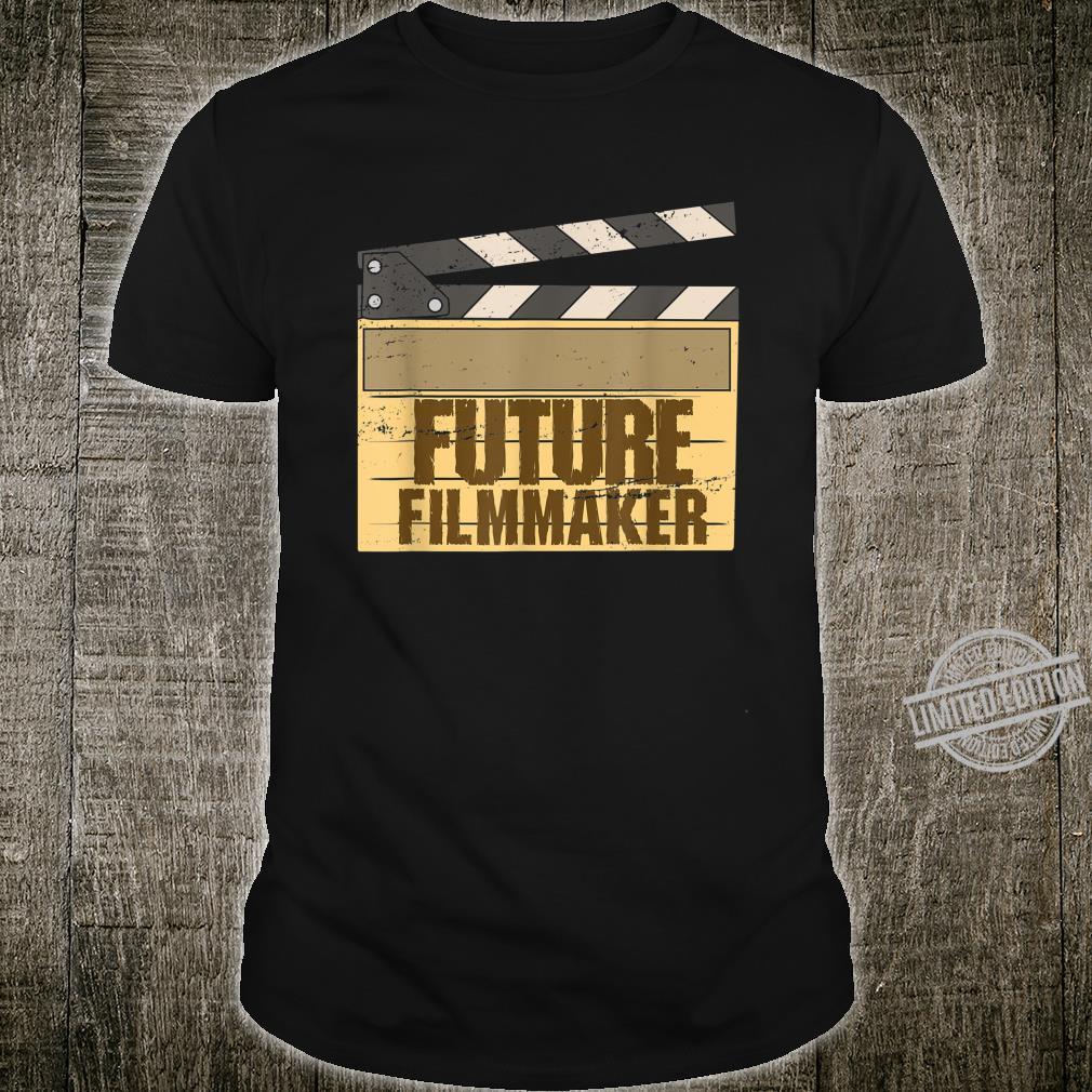 Gift for Filmakers, Film School Students Future Filmmaker Shirt