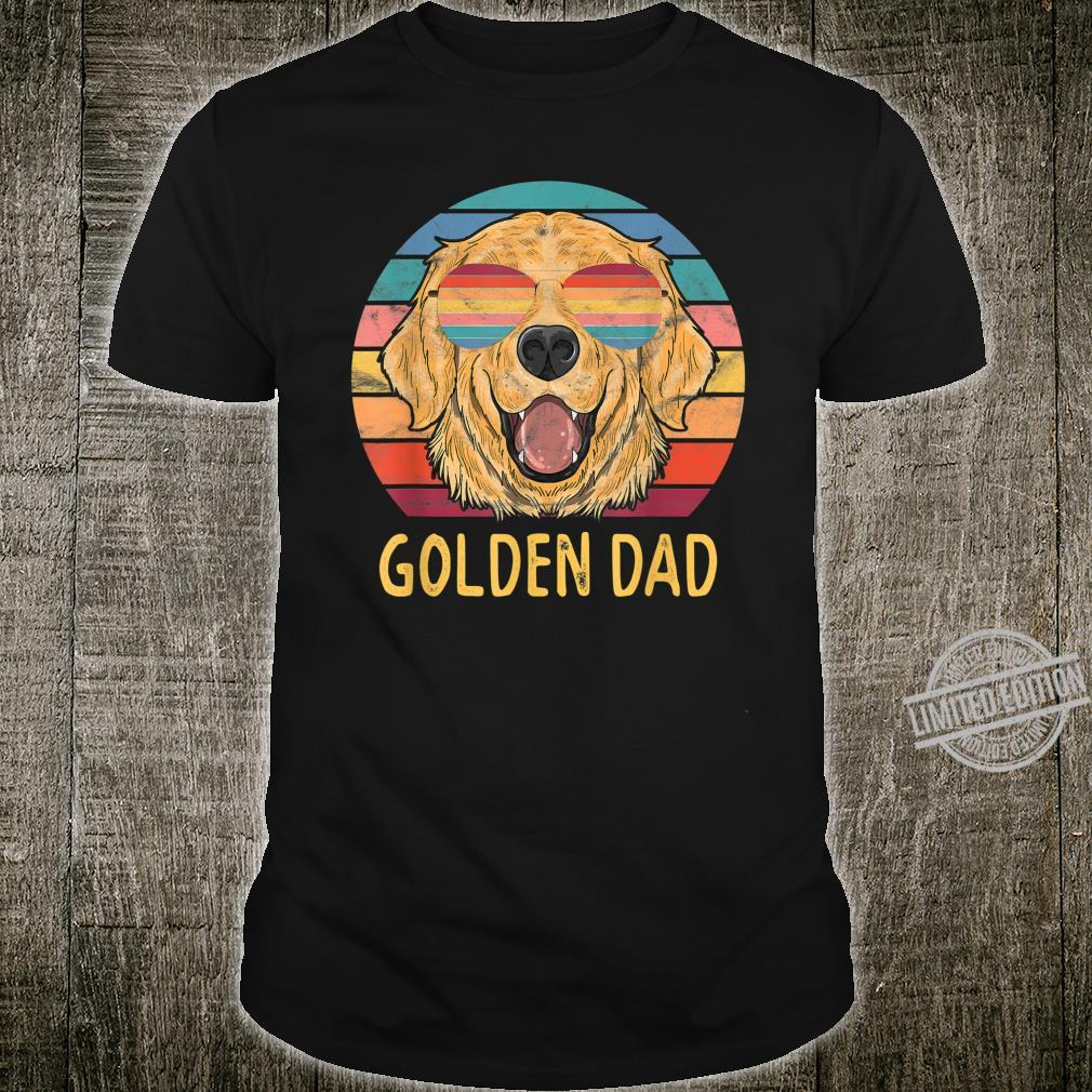 Golden Retriever Dog Dad, Golden Dog Dad Shirt
