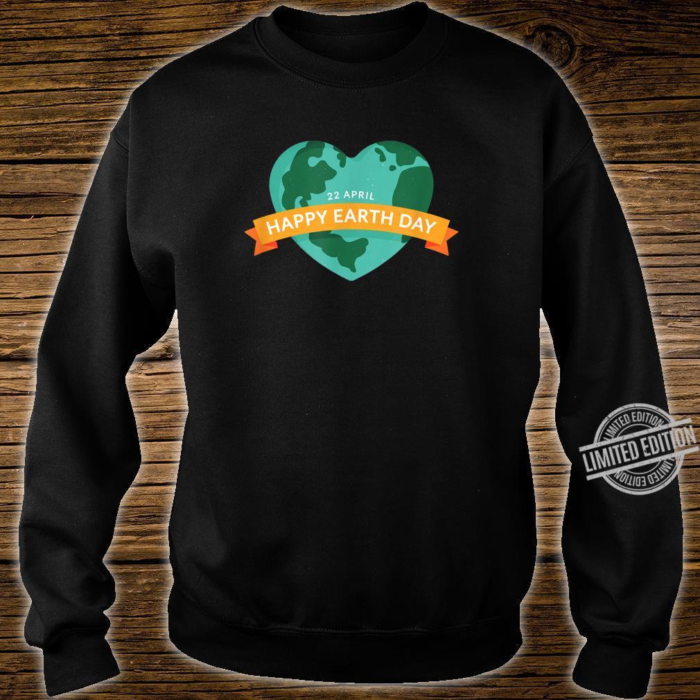 Happy Earth Day Mutter Erde Geschenk zum Welttag am 22.04 Shirt sweater