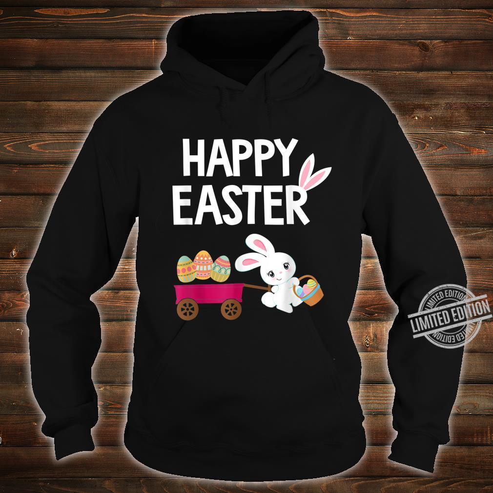 Happy Easter Bunny with Easter Eggs Shirt hoodie